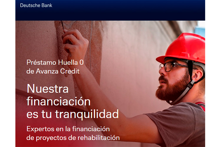 Deutsche Bank Avanza credit financiacion web