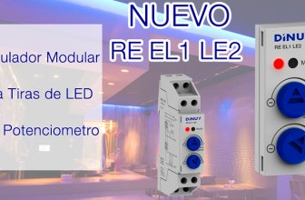 Dinuy: Regulador modular para tiras Led