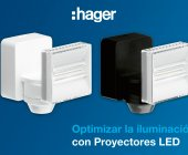 Hager: Proyectores Led compactos para exterior