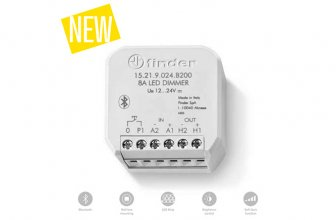 Finder: Dimmer PWM para control de tiras led